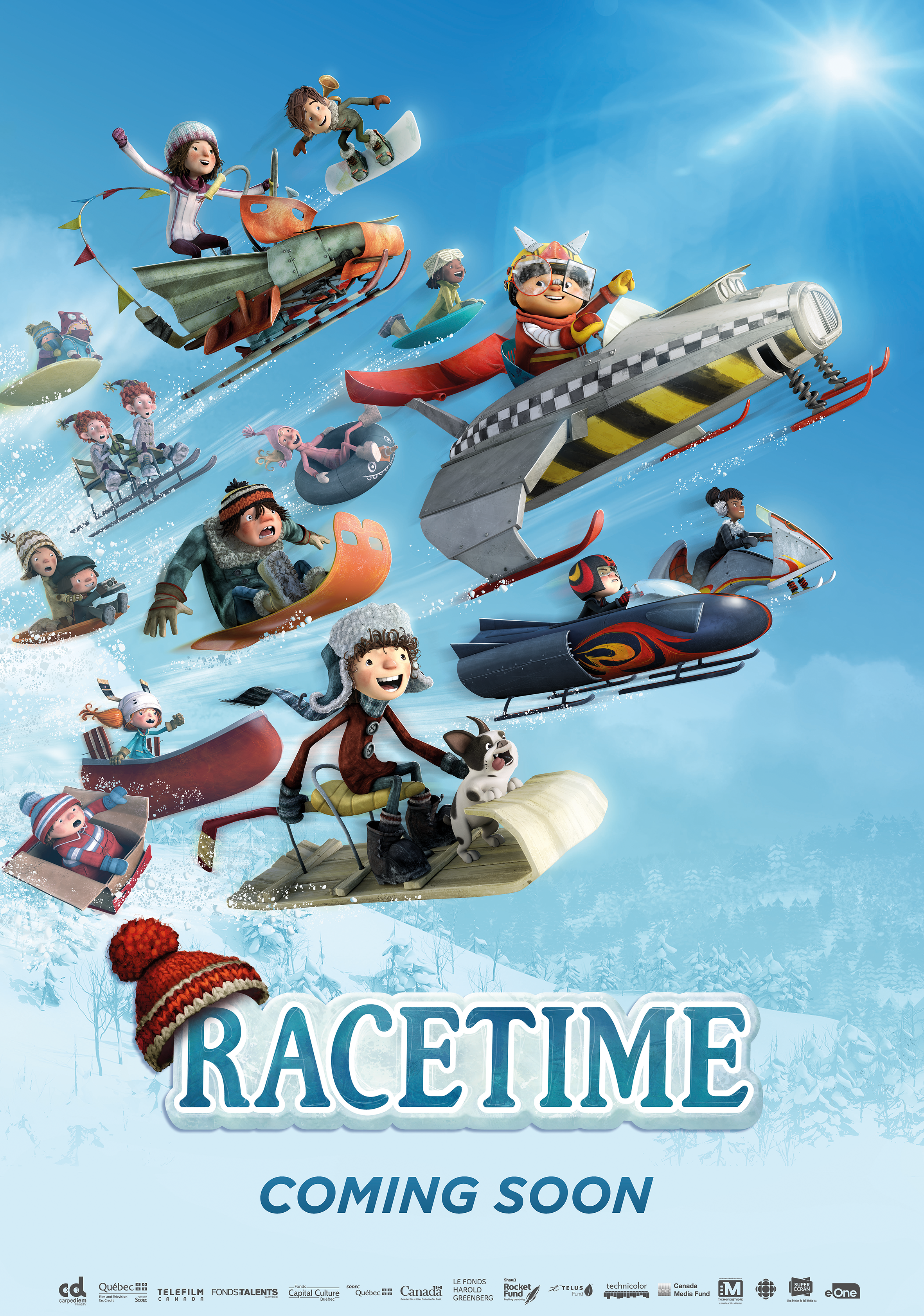 The official website for Racetime, the movie!
